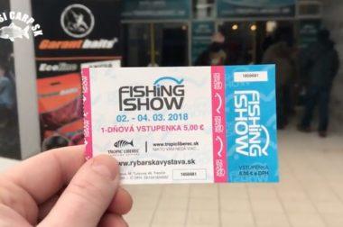 Zmesicarp na Fishing Show 2018 v Trenčíne